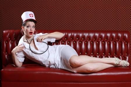 infirmière sexy au téléphone rose gratuit