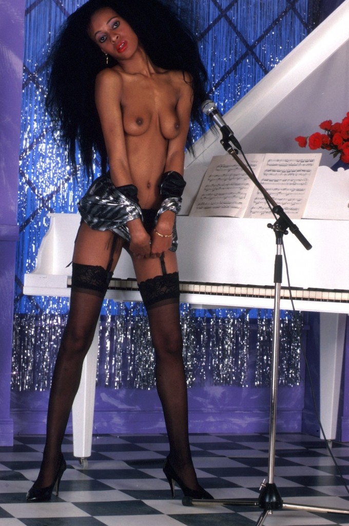 Les beaux seins de la salope black