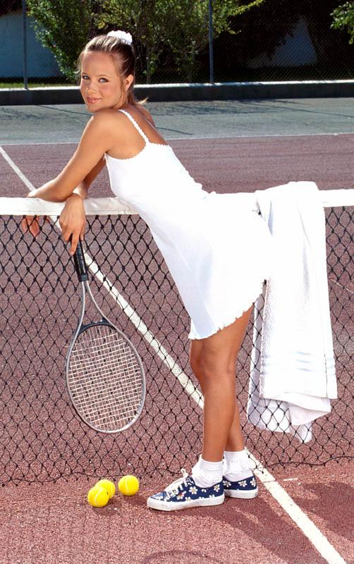 Joueuse de tennis sexy