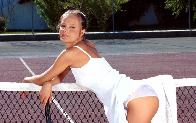 Joueuse de tennis salope