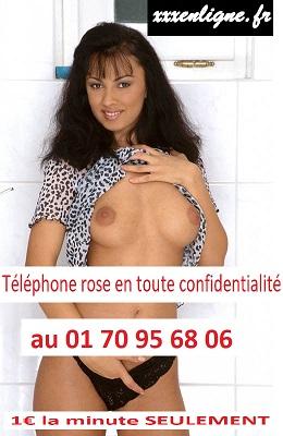 Téléphone rose en tout confidentialité au 01 70 95 68 06  1€ la minute