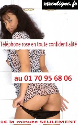 Téléphone rose en toute confidentialité au 01 70 95 68 06 pour 1€ la minute SEULEMENT