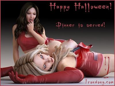 xxxenligne.fr Spéciale Halloween le Diner est servi