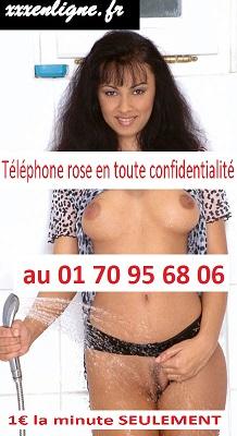 Téléphone rose en toute confidentialité au 01 70 95 68 06 - 1€ la minute seulement 24h/24