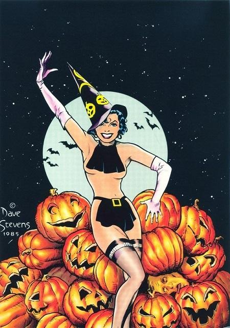 Halloween vintage avec xxxenligne.fr