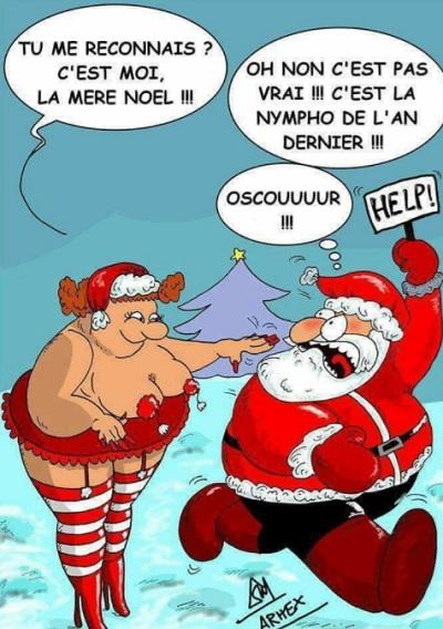 Mère Noël humoristique xxxenligne.fr