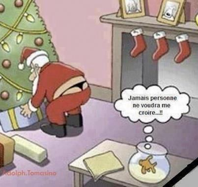 Père Noël humoristique de xxxenligne.fr